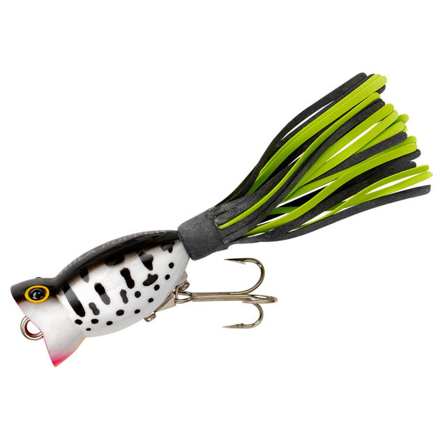 White//Orange Tips 3//8 Oz 1 -Bass Fishing-NEW Custom Topwater Buzzbait Lure-
